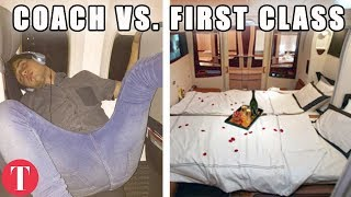 This Is What FIRST CLASS Will Buy You On Different Airlines
