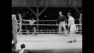 Charlie Chaplin Boxing Full Comedy Scene HD (City Lights 1931)