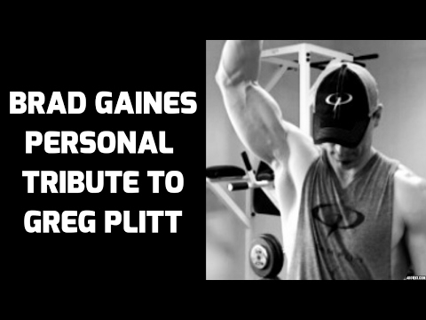 Greg Plitt Tribute by Brad Gaines - The Legacy Lives On