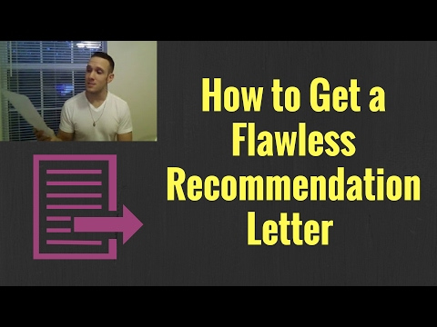 How to Get a Letter of Recommendation at Your Job Teaching English Overseas