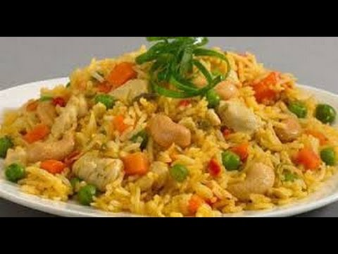 How To Cook Curry Rice, With Chicken (Easy Recipe)