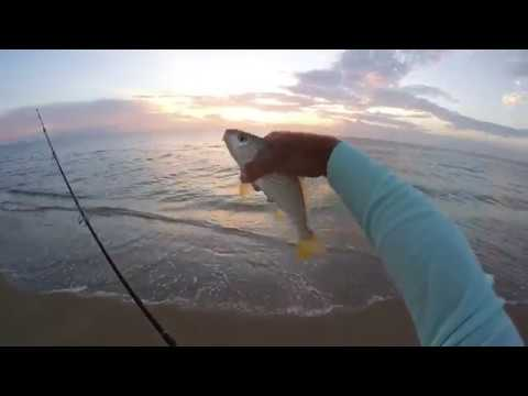 Surf Fishing Florida Croakers