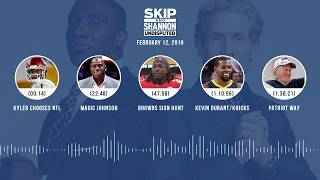 UNDISPUTED Audio Podcast (02.12.19) with Skip Bayless, Shannon Sharpe & Jenny Taft | UNDISPUTED