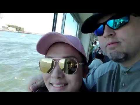 New York Boat Tour, Statue of Liberty .