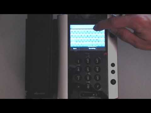 Polycom VVX500 - Touch Screen Overview, Home Button, Touch Screen Tips & Tricks
