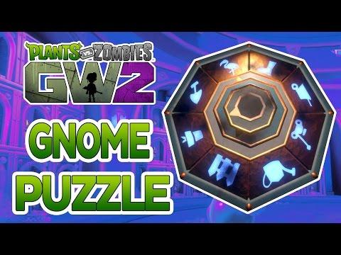 Plants Vs Zombies Garden Warfare 2: Solving The Gold Gnome Lever Puzzle