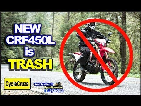 Why New 2019 Honda CRF450L is TRASH 💩