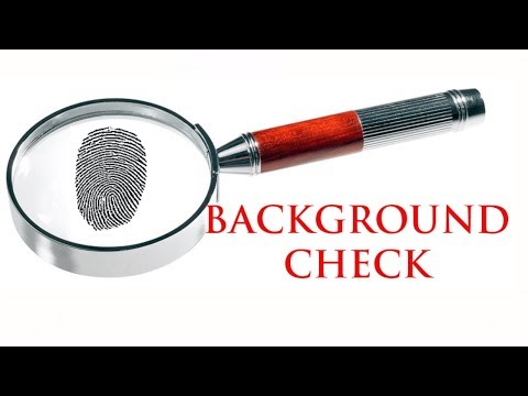 How To Do A Background Check On Someone - Criminal Background Checks (USA only)