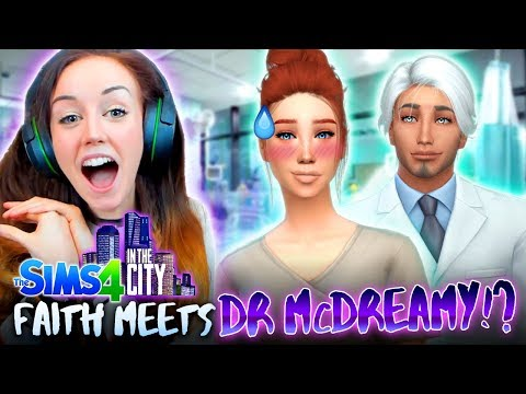 👩⚕️👨⚕️DR FAITH MEETS McDREAMY!? 👩⚕️👨⚕️(The Sims 4 IN THE CITY #39!💒)