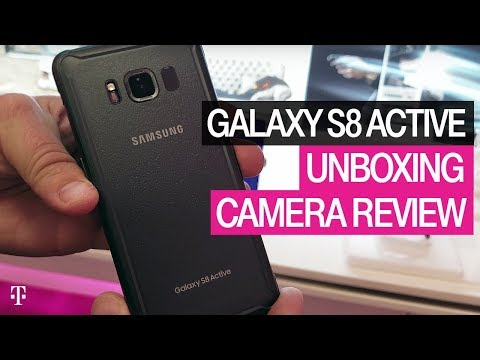 Samsung Galaxy S8 Active Unboxing and Review with AskDes | T-Mobile