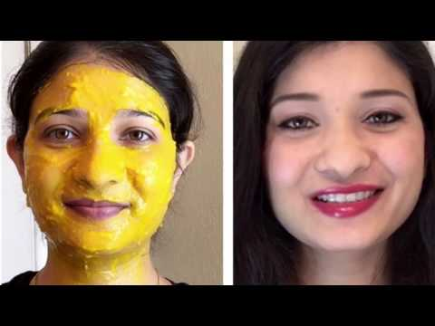 #3 Beauty tips - Home remedy for uneven skin tone in Hindi with English subtitles (flawless skin)