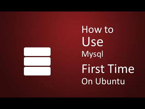 How to start mysql first time after installing on Ubuntu