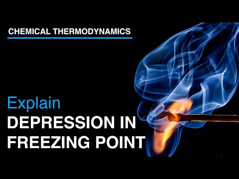 Explain Depression in Freezing Point and Derive equation for molal depression constant