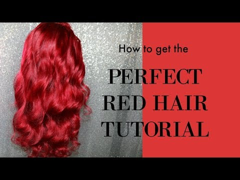HOW TO GET AMAZING RED HAIR start to finish TUTORIAL