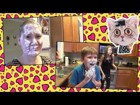 Whipped Cream Bubblegum challenge 😳
