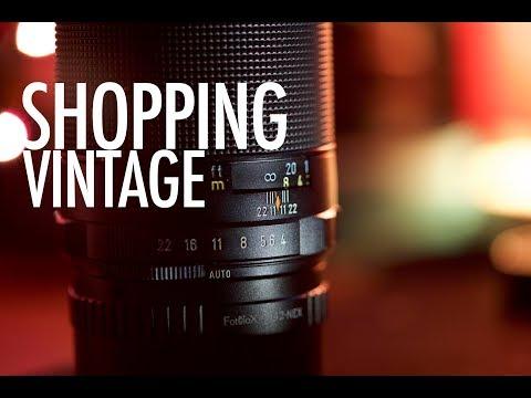 VINTAGE LENS - BEST way to BUY vintage LENSES