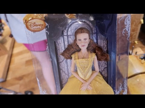 Why Is The Emma Watson Belle Doll So Mad?! And Live Snakes!