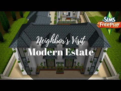 Modern Estate By Jeni | Sims FreePlay