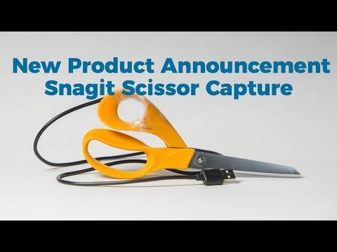 SnagIRL - Snagit Scissors Beta, New Product Announcement