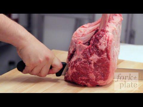Butchering & Cooking a Tomahawk Bone-In Ribeye w/ Michael Vignola, StripHouse