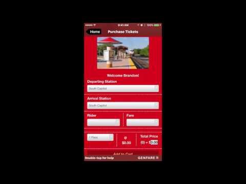 Mobile Ticketing App Tutorial