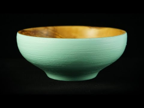 Clay or Wood ? A woodturning with chalk paint ! Ξυλότορνος και χρώματα κιμωλίας !