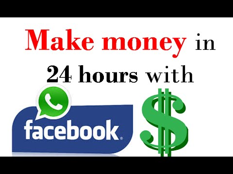 How to make money on facebook within 24 hours | make money on facebook group and fan page