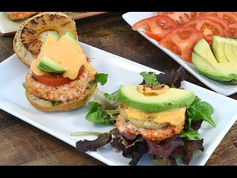 Salmon Patties - Fresh Salmon Burgers | RadaCutlery.com