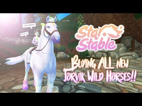 Buying ALL new Jorvik Wild Horses! | Star Stable Updates