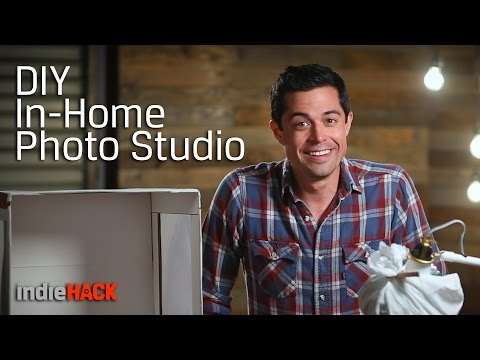 Photography Tips - Tutorial on Building Your Own Photography Studio 📷 indieHack Ep 12