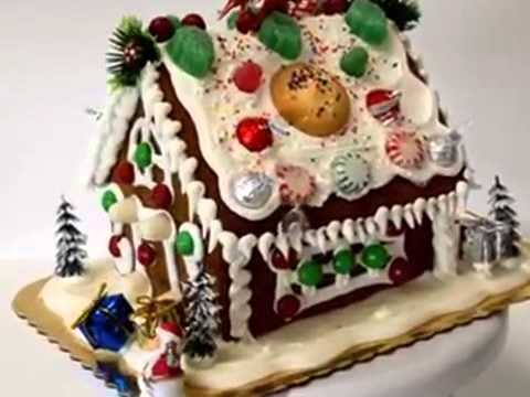 How to make cake GingerBread House Design Ideas
