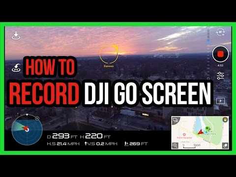 How To Record DJI Go Screen On iPhone, iPad, and Android | Phantom, Mavic, Inspire #Drone