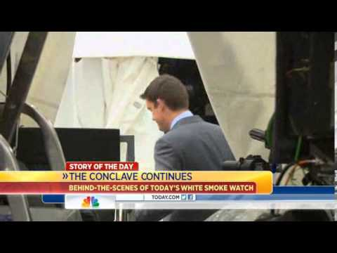 Behind the scenes of the Vatican's WHITE Smoke Watch | POPE Election