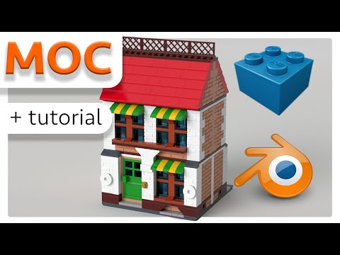 MOC / Tutorial ✔️ How to create a LEGO Animation and MOC with LEGO Digital Designer & Blender