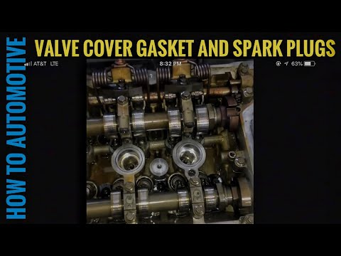 How to Replace the Valve Cover Gasket and Spark Plugs on a 2009 Mini Cooper N12