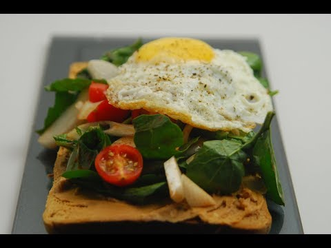 Peanut Butter Toast With Fried Egg | New Season | Cooksmart | Sanjeev Kapoor Khazana