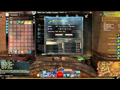Guild Wars 2 Ectoplasm Salvaging(Fastest way to increase magic find)