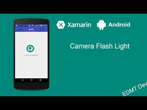 Xamarin Android Tutorial - Camera Flash Light Apps