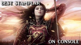 eso pvp build medium armor stamplar 2h and resto the new meta