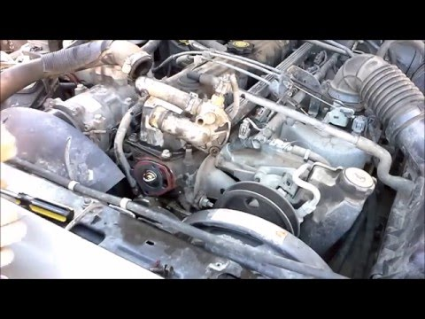 Jeep Cherokee XJ Thermostat Install