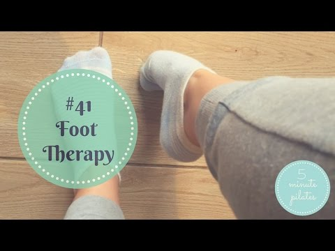 #41 Foot Therapy - 5 Minute Foot Pilates to Restore the Arch