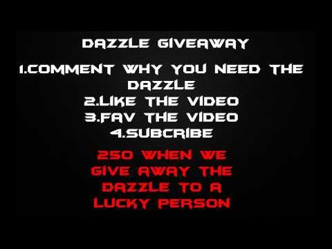 Dazzle Giveaway (Open)