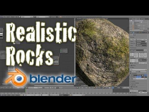 Create Realistic Low Poly Rocks - Beginner Blender Tutorial
