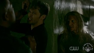 The Originals 4x05 Klaus and Marcel fight