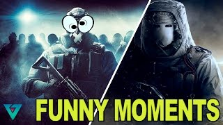 HELVETE FAEN!!! - (Rainbow Six Siege Funny Moments!)