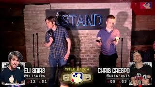 The RoastMasters 5.22.18 Main Event: Eli Sairs (C) vs. Chris Crespo
