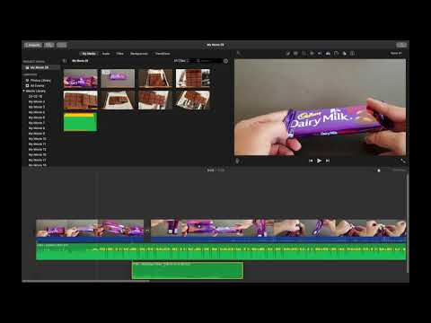 HOW TO DETACH OR REATTACH AUDIO FROM A VIDEO IN IMOVIE MAC