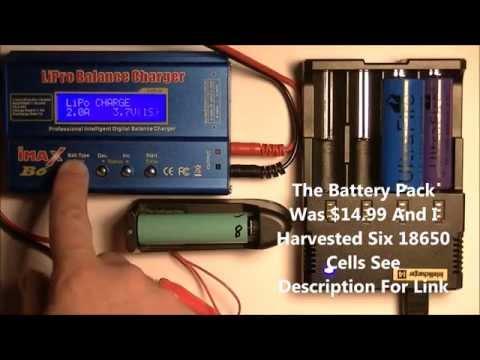 Testing Ultrafire Li-Ion Batteries Using Imax B6 & Nitecore I4 V2 Charger Comparing To Others