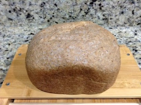 How To Make 100% Whole Wheat bread (organic), in an Oster Bread Machine