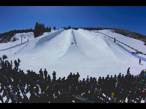Building the Red Bull Double Pipe